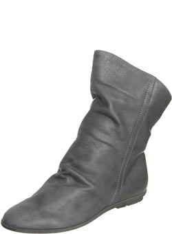 Topshop Soft Tie Back Ankle Boot